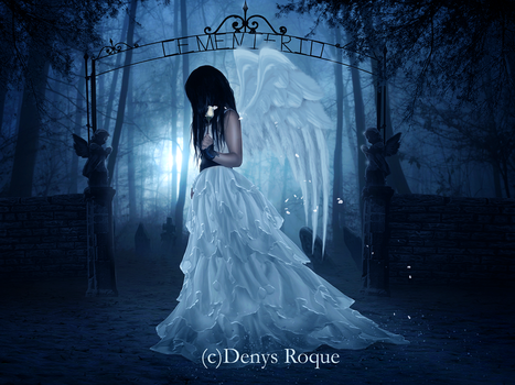 Angel Melancolico by DenysRoqueDesign