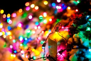 Christmas lights by Foques