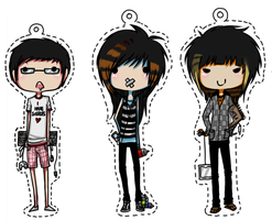 Keychainy things by Russian-Standard