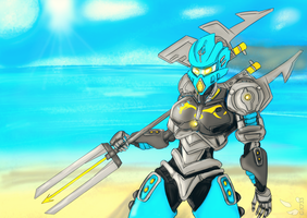 BIONICLE: Gali Master of Water by gk733