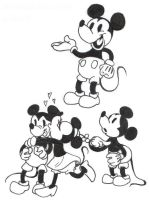 Mickey Doodles by Strabius
