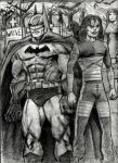 The Dark Knight and The Crow by MisterHydesSon