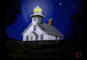 Old Mission Lighthouse by AG88