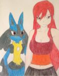 Erza x Lucario by FlyingLion76