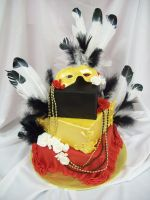 masqurade cake by see-through-silence