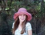 My face and a sunhat by Nutrea
