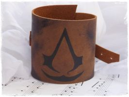 Assassin's Creed Leather Cuff by ChrisOnly