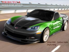 Carbon Vette by IvanTheLoneWolf