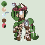 Ironbark Custom - For Make-A-Heart by daedric-darling