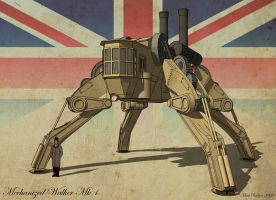 Mechanized  Walker Mk1 by MechWarriorsClub