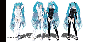 :TDA Exlium Miku DOWNLOADS NEWLINK in DES by iinoone
