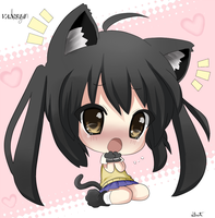 CUTE CHIBI COLORING ^^ by Van314