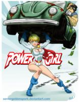 Power Girl by ArtistAbe
