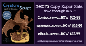 Creature Sculpt Sale, LAST DAY! by emilySculpts