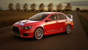 Mitsubishi Evo X (2) by BlackLizard1971