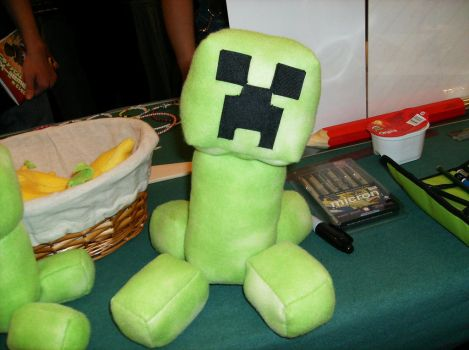 Creeper Plushie by Max-F1