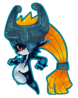 Imp Midna by Spookie-Sweets