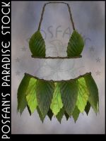 Fairy Leaf Outfit by poserfan-stock