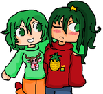 Vocaloid: Ugly Christmas Sweater Day (GumiSonika) by GoPatchy