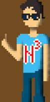 NerdCubed Pixel Art by RanfordS