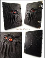 Two-eyed Necronomicon - More details by MilleCuirs