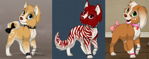 Puppy Adoptables by Wolfies--Adopts