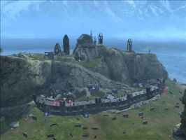 Halo Reach Map: Edoras by KindiChan