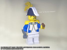 Papercraft LEGO Pirates Governor Broadside 1 by ninjatoespapercraft