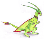 Flygon by DoomScarf