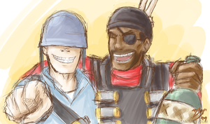 TF2- Bromance is Golden by syntic
