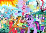 Goodbye, MLP season 4 by seriousdog