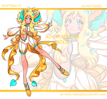 ADOPTABLE NO.3(SOLD) by Miss-TaDa