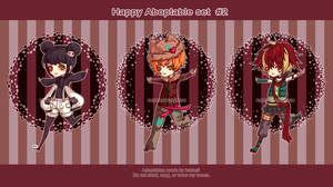 Happy adopts set 2:: CLOSED by Keimeii