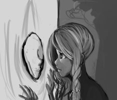 mirror WIP by chiffoneboo