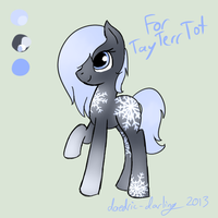 Snowflake Custom - For TayTerrTot by daedric-darling