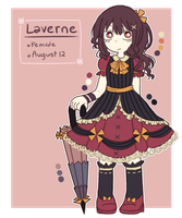Laverne reference by Azurane