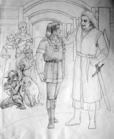 Old Prydain Stuff: Hero's Reward (unfinished) by saeriellyn