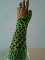Fish Net Gloves by 329