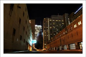 Montreal at Night 28 by Pathethic