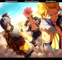 Fairy Tail 405 Collab StingCunha, RicardoNamikaze by DesignerRenan