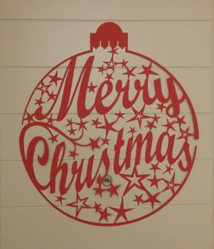 Christmas greeting papercut by Alessandro-Ole
