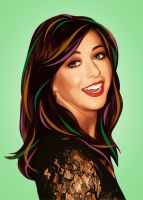 Alyson Hannigan (Lily, 'How I Met Your Mother') by LilyMagpie