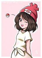 Pokemon Sun and Moon - Female trainer by Cypernelli