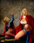 POWERGIRL TO THE RESCUE by isikol
