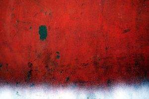 red white black abstract by beckas