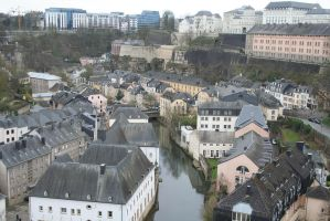 look down to luxemburg city 8 by ingeline-art