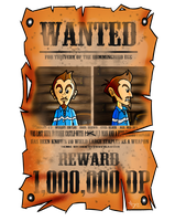 Duster WANTED Poster by FoxiFyer