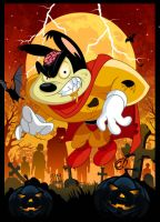 Mighty Mouse... UNDEAD? by CHUCKAMOKK
