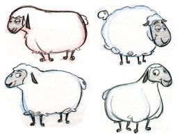 Sheep Designs by tombancroft