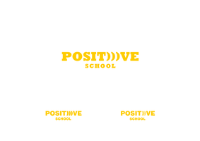 Positive school. Logo concept #2 by vertus-design-being